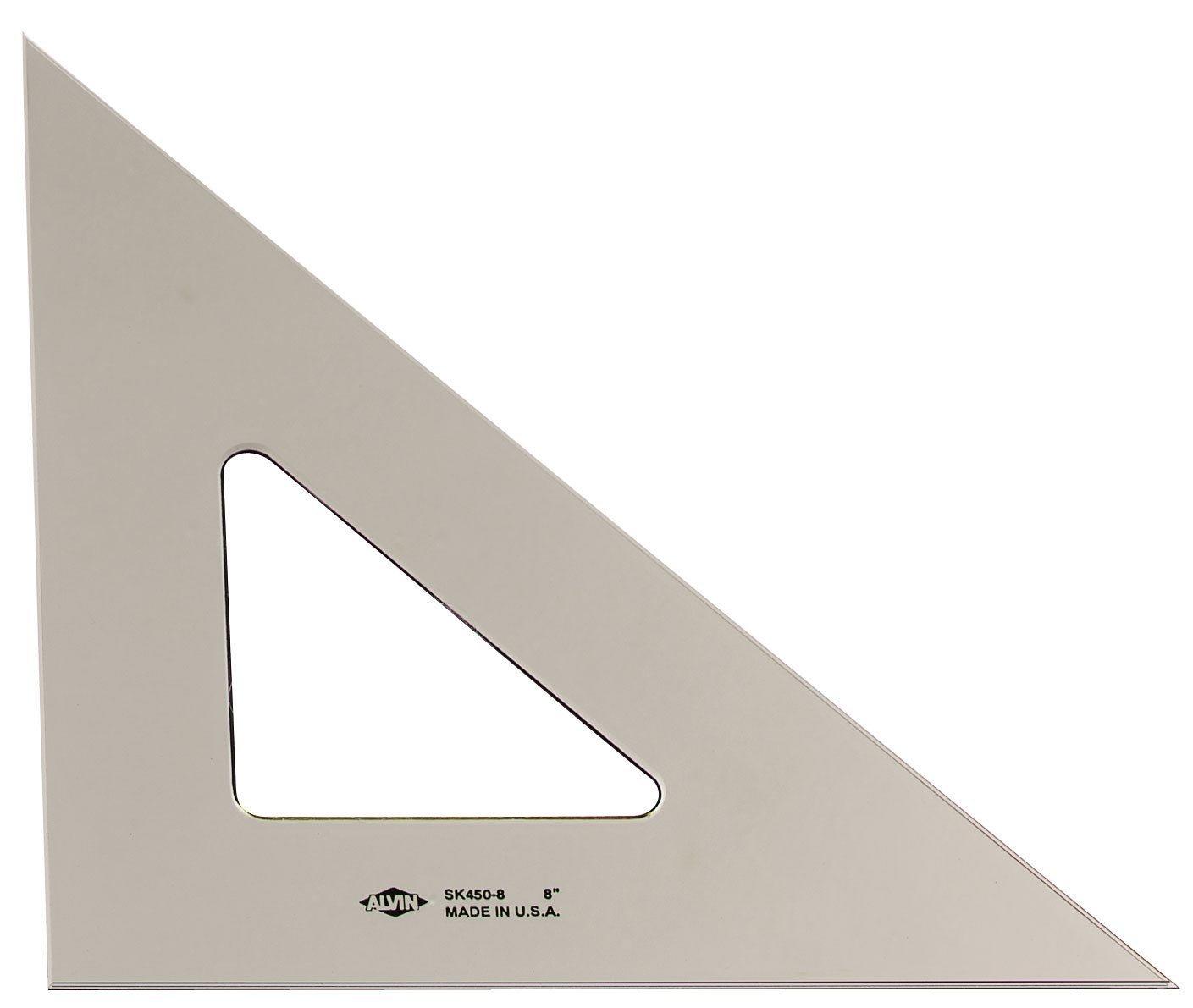 Smoke Pro Art 12-Inch 45//90-Degree Triangle