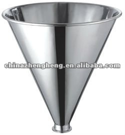 Stainless steel hopper for package machine