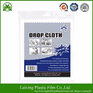 Painter drop cloth/Plastic cover/Plastic cover sheet