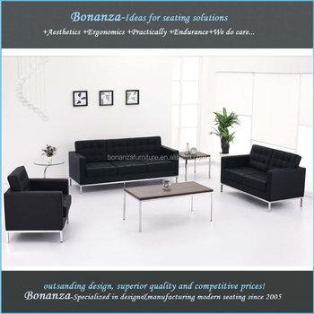831 Modern Sectional Replica Florence Knoll Sofa Living Room