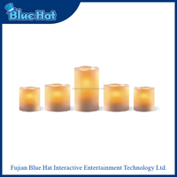 High quality real wax LED candle wholesale