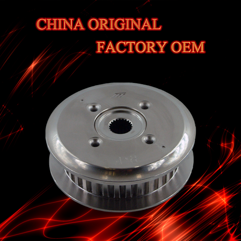 Factory motorcycle spare parts FCC/ CG150/ TITAN150 electroless nickel plating clutch center and clutch plate