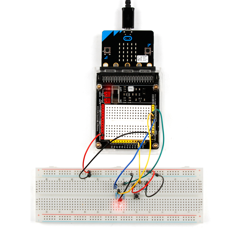 Getting Started with micro:bit kit Javascript Python Programming STEM Education