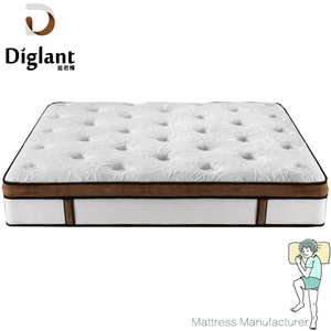 High quality memory foam bed spring hotel mattress toppers