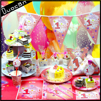 Paper Theme Birthday Party Supplies - Buy Wholesale Party Supplies ...