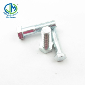SAE J429 Grade 5 Hex Cap Screws Zinc