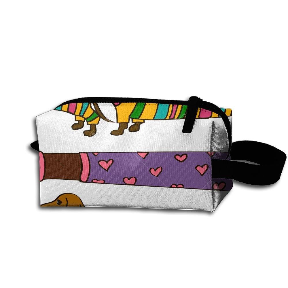 1b8359f5677c Buy Funny Cartoon Long Dachshund Dogs Travel Bag Printed ...