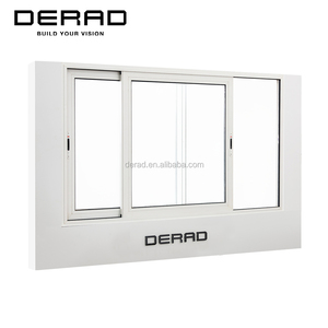 Aluk Quality Horizontal Aluminum Sliding Window From DERAD Factory Supplying