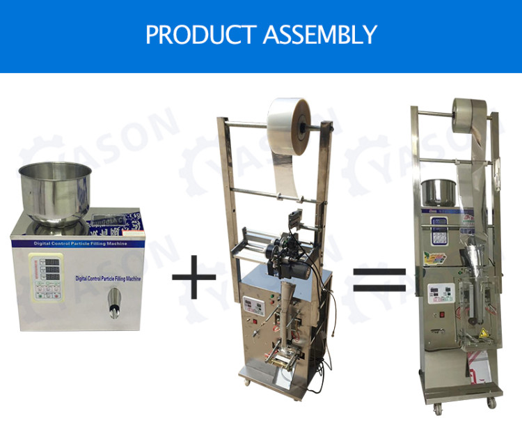 Fully Automatic Granule Sugar Coffee Bean Digital Control Automatic Pouch Tea Sachet Bag Stick Packing Packaging Machine