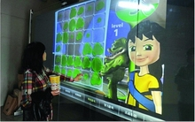 40 inch Projected capacitive multitouch foil,truly 10 points interactive USB touch foil film for touch table and kiosk