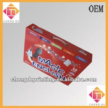 card board paper point of reading machines box