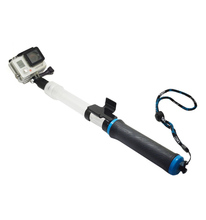Waterproof Diving Floating Extension Pole Float Floaty 62cm Monopod With WIFI Remote Clip For Gopro Hero
