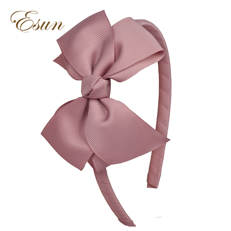 high quality girls kids decorative headband eco friendly <strong>hair</strong> <strong>accessories</strong> big bow hairband