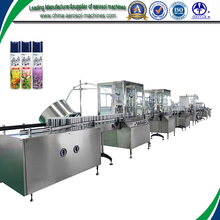 Automatic deodorant spray filling machine with the best quality assurance