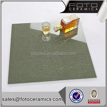 FOTO green color double loading polished porcelain floor tile price dubai 60 60