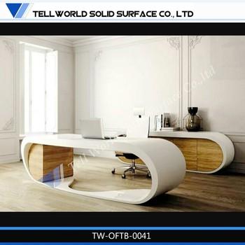 Moderne modulare büromöbel  Modulare Büromöbel Billige Büromöbel Moderne Glas Schreibtisch ...