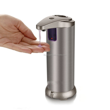 Hand free liquid stainless steel automatic soap dispenser