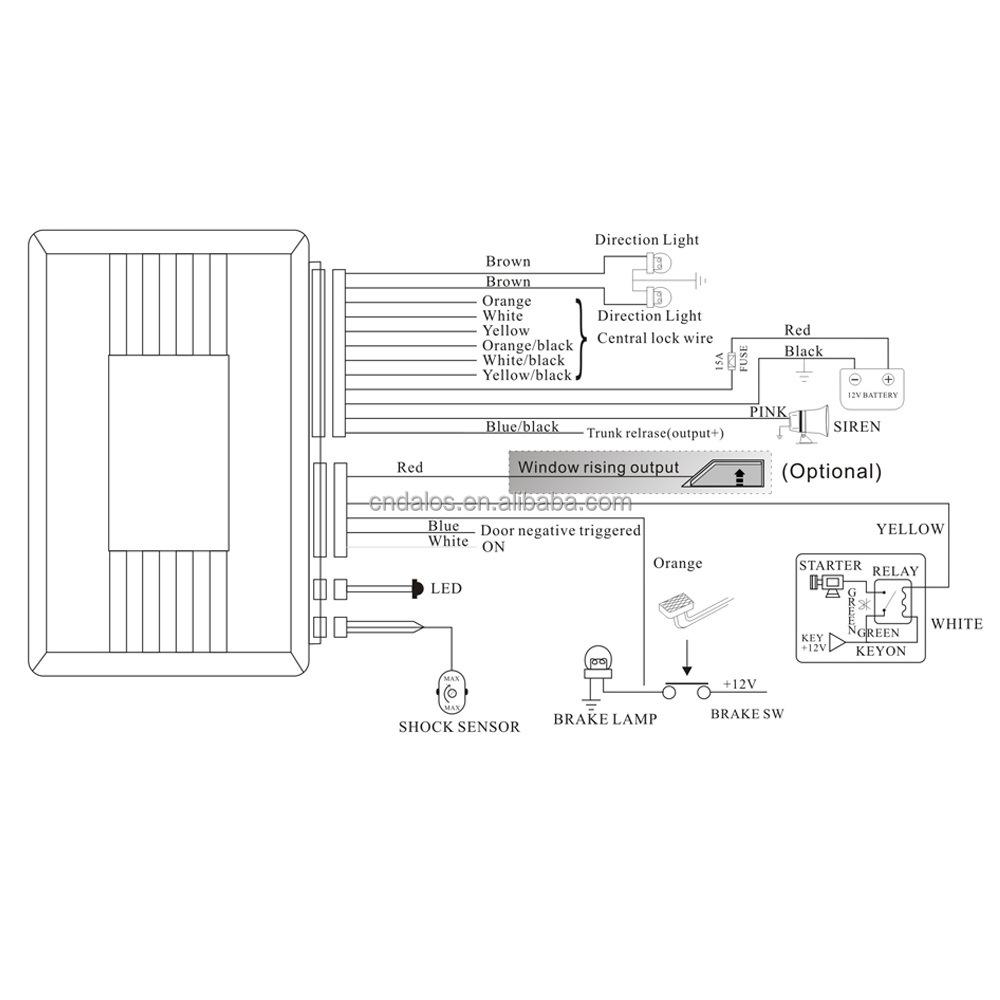 BA4C Tamarack Car Alarm Wiring Diagram | Wiring ResourcesWiring Resources