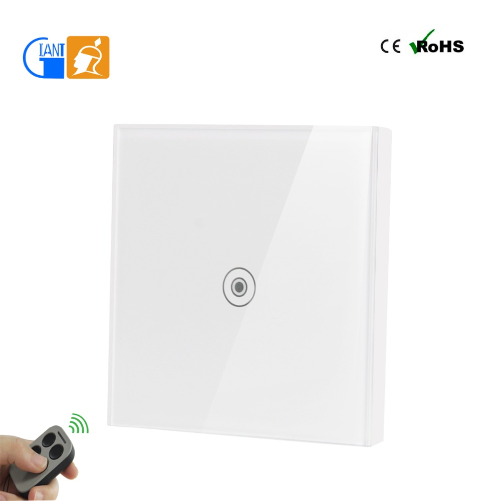 Smart home automation wifi controlled light touch screen wall switch