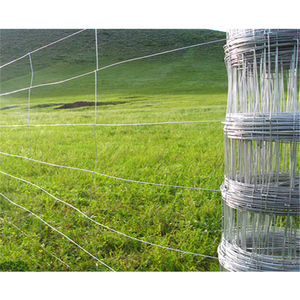 Hinged joint field fence cattle mesh sheep wire