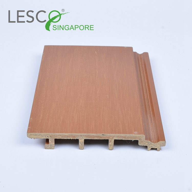 Eco-friendly Weather Resistant Outdoor WPC Wall Panel Cladding/Wood Plastic Composite panel Wall