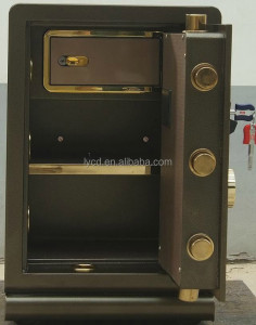 electronic steel safe box high security luxurious interior
