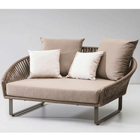 Hot Selling patio lounge furniture outdoor sofa set with good price