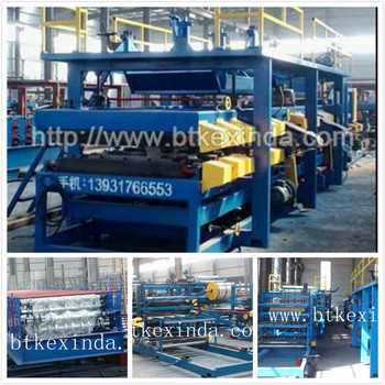 Eps sandwich panel sip structural insulated panel machine for Sip panels buy online