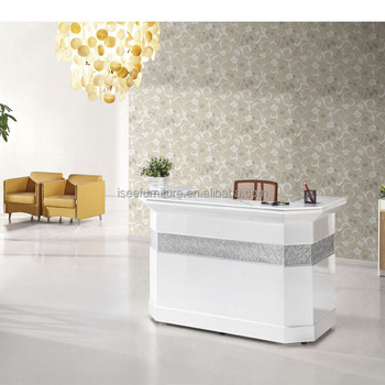 Small Beauty Salon Reception Desks Marble Top For ...