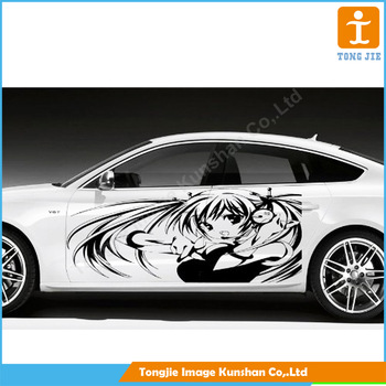 Custom car sticker printing car decals