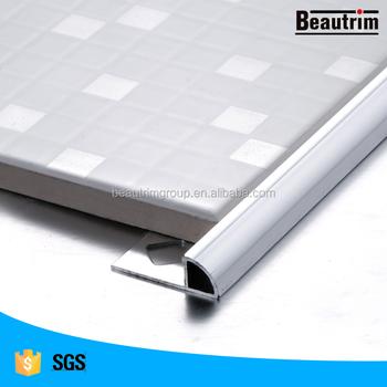 Stainless Steel Quarter Round Tile Trim