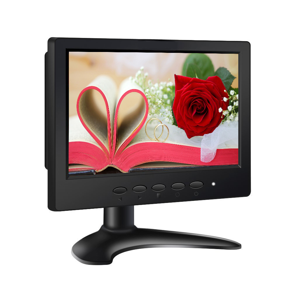 Wholesale 7 inch motorized touch screen monitor vga car pc