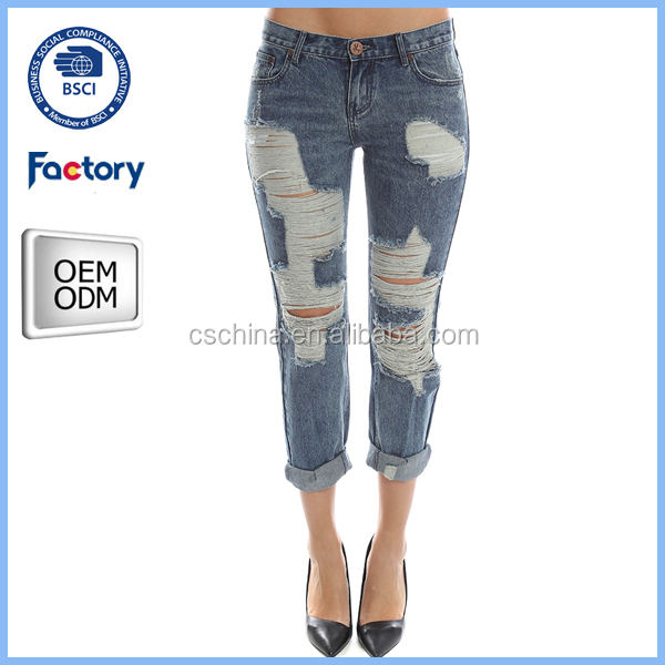 Latest Design Jeans Pants For Girl,New Style Fashion Girls Jeans ...
