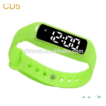 CE approved pedometer waterproof timer fast track smart watch kids
