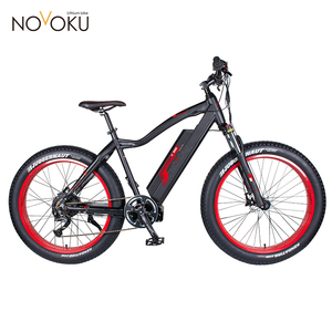 26 inch Fat Tire Enduro Lowes Mountain Electric Bike 48V 500W/e bike for adults and kids