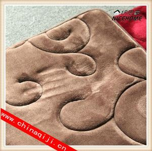 wholesale different fabric size style entrace rattan mat