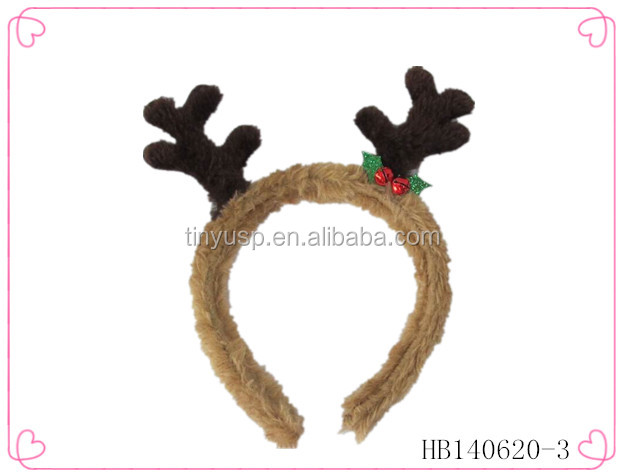 Hairy hair band,holiday headband for babies,festival accessories