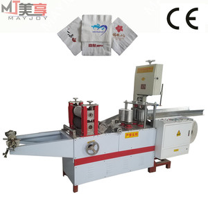 semi-automatic sanitary napkin pads making machine