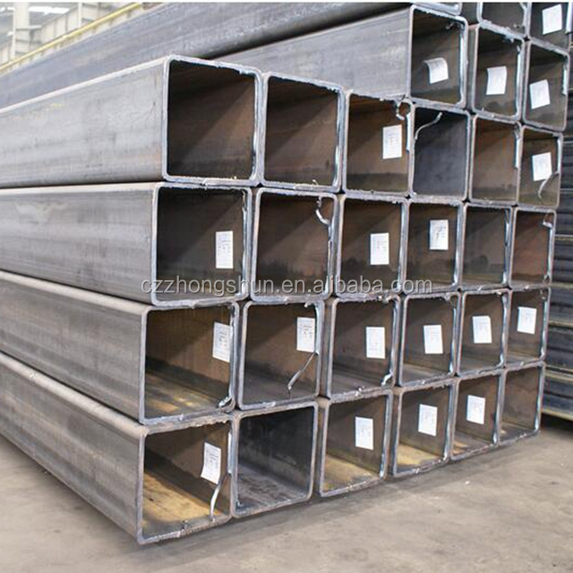 Carbon Pe Erw Welded Rectangular and S.Q Steel Pipe in cangzhou