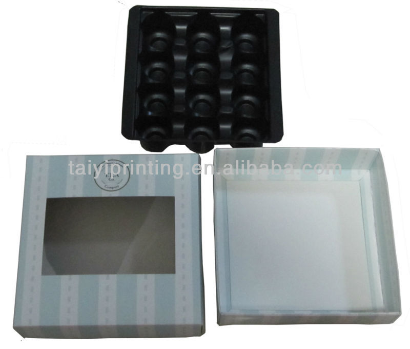 2013 high quality wholesale acetate chocolate box