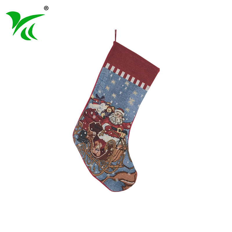 Supplies santa ornament pattern decoration christmas stocking