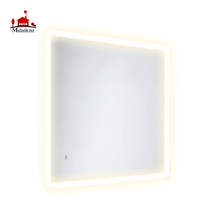Latest wall-mounted back lighted dressing mirrors 60x80 smart touch screen led mirror for bathroom