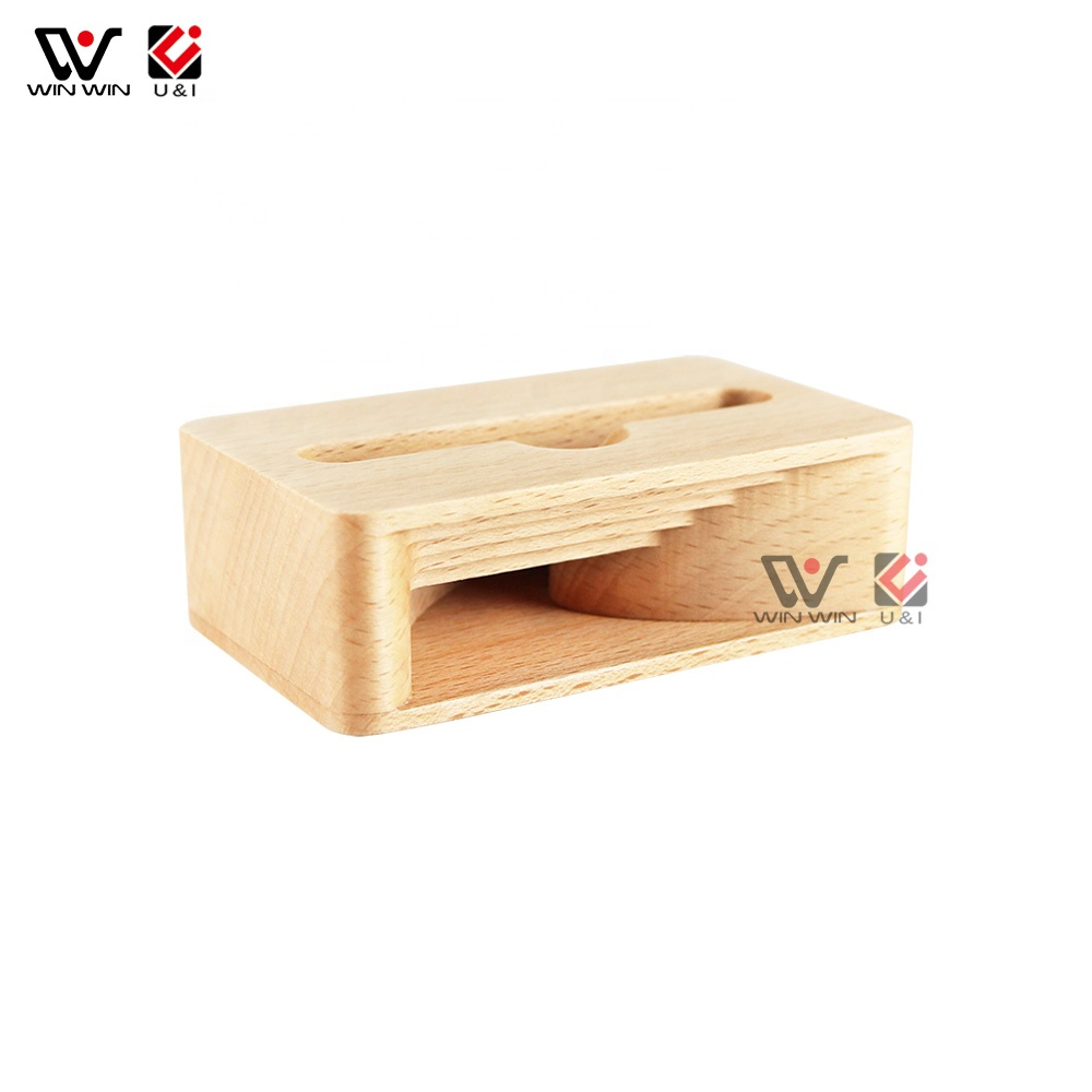 Natural Wood Custom Logo Many Materials Bamboo Walnut Cherry Maple Long Wooden Box Gift Box