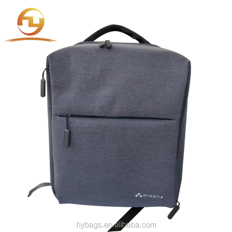 men business 17 inch anti theft  laptop backpack bag