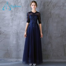 Lace Appliques Sashes Lace Up Half Sleeve Plus Size Japan Sex Girl Free Prom Dress