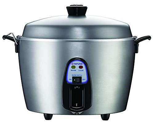 Tatung - TAC-11KN(UL) - 11 Cup Multi-Functional Stainless Steel Rice Cooker - Silver