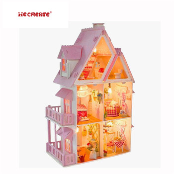 Handmade Living Room Furniture In Wooden Doll House Guangzhou Toy