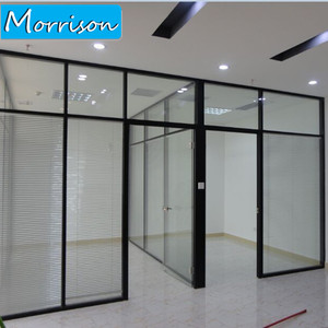 Aluminum multi track sliding door aluminum window and door