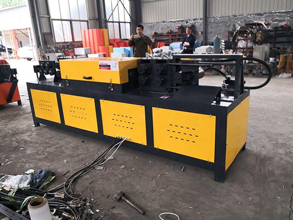 Gleery Fabrik GT6-12, 10-20,12-24mm Null Fehler Schneiden Hydraulische Betonstahl Richt Maschine