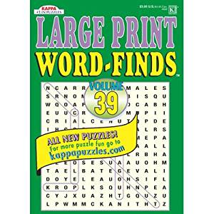 Large Print Word-Find Puzzle Book [Set of 3]